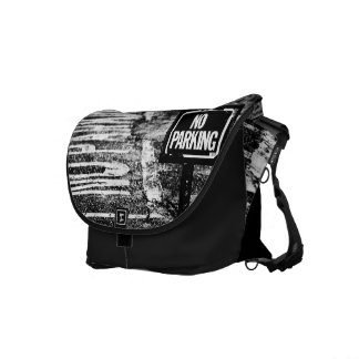 signs of reservation courier bag