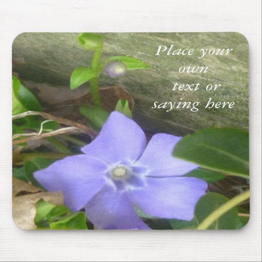signs of spring floral mouspad mousepad