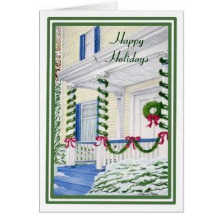 Signs of the Season Christmas Card Greeting Card