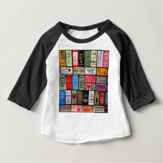 Signs Of The Time Inspirational Mosaic Baby T-Shirt