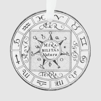 Signs of the Zodiac and Planets Ornament