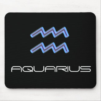 Signs of the Zodiac, Aquarius Mouse Mat