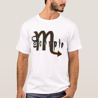 Signs Of The Zodiac - Scorpio T-Shirt