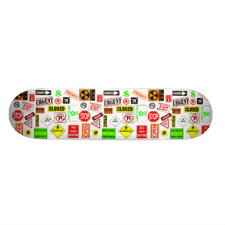 Signs Skateboard Decks