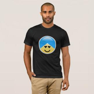 Sikh American Heart Eyes Turban Emoji T-Shirt
