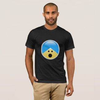 Sikh American Hushed Turban Emoji T-Shirt