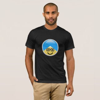 Sikh American Nerd Turban Emoji T-Shirt