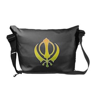 Sikhism Sikh Khanda Messenger Bag