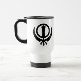 Sikhism Symbol Travel Mug