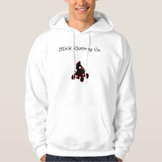 SIKK Hoddie White Hooded Pullover