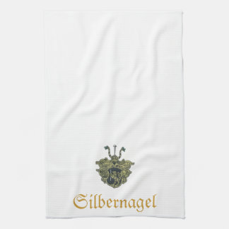 Silbernagel crest towel