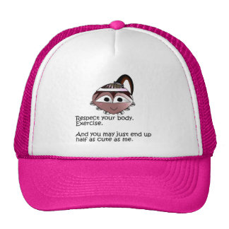 Sileghea Exercise Pink Hat