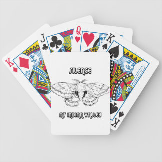 SILENCE AT INDIAN VALLEY BICYCLE PLAYING CARDS