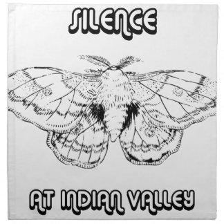 SILENCE AT INDIAN VALLEY NAPKIN