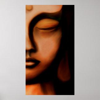 Silence… Budhha Poster