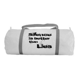Silence Duffle Gym Bag