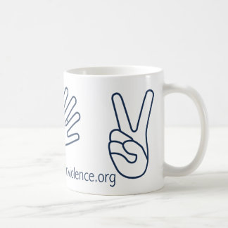 Silence for Nonviolence Mug! Coffee Mug