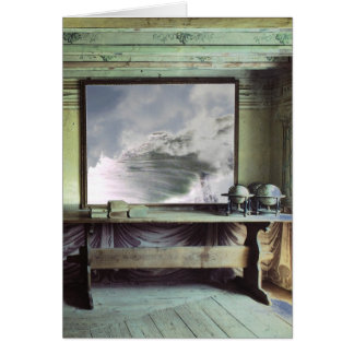 Silence in Motion Greeting Card