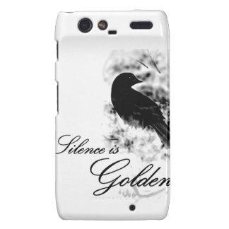 Silence is Golden - Black Bird Droid RAZR Covers