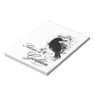 Silence is Golden - Black Bird Notepads