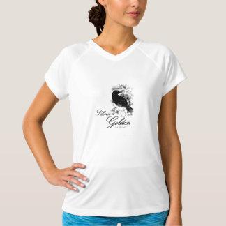 Silence is Golden - Black Bird Shirt