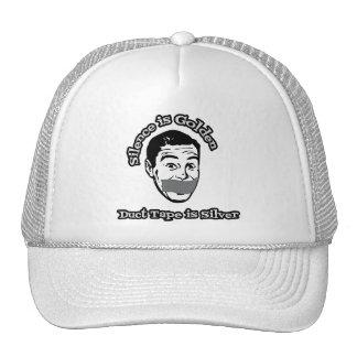 Silence Is Golden - Duct Tape Is Silver Trucker Hat