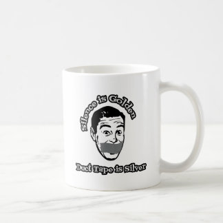 Silence Is Golden - Duct Tape Is Silver Mugs