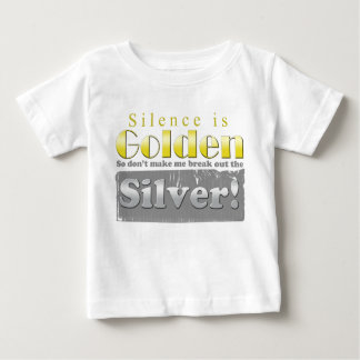 Silence is Golden Duct tape Tshirts