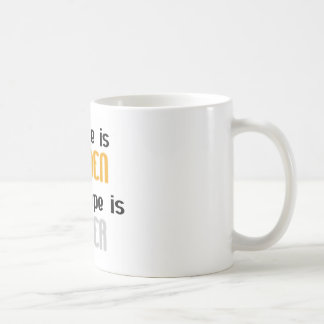 Silence is Golden Ductape is Silver Classic White Coffee Mug
