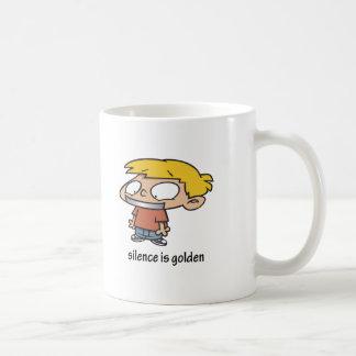 Silence Is Golden Mug