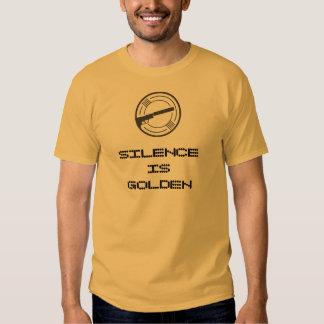 """Silence is Golden"" Silencer News tee"