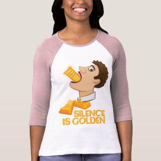 Silence Is Golden Tshirt