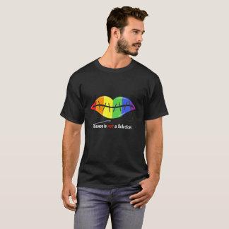 Silence is not a solution-Dark T-Shirt