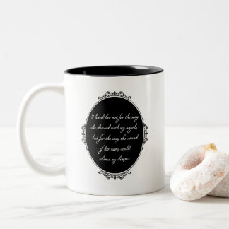 Silence My Demons Coffee Mug