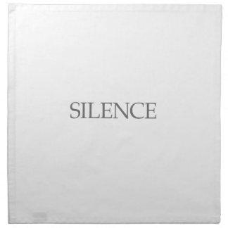 SILENCE NAPKIN