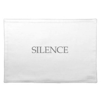 SILENCE PLACEMAT