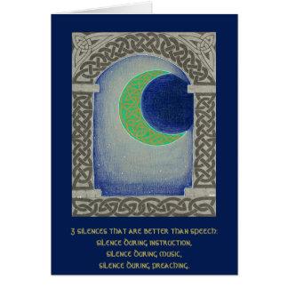 Silence Triad card