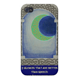 Silence Triad iPhone case iPhone 4 Covers
