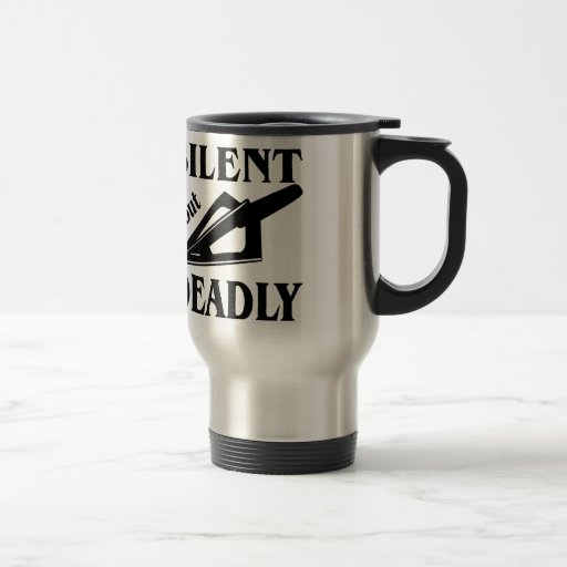 Silent But Deadly Bow Hunting Coffee Mugs