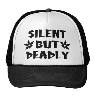 Silent But Deadly Mesh Hats