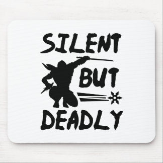 Silent But Deadly Mouse Pad