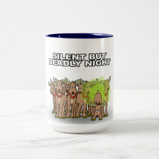 Silent But Deadly Night Two-Tone Mug