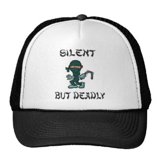 silent but deadly Ninja Fart Cap