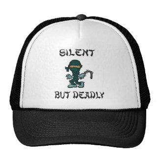 silent but deadly Ninja Fart Trucker Hats