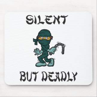 silent but deadly Ninja Fart Mouse Pad