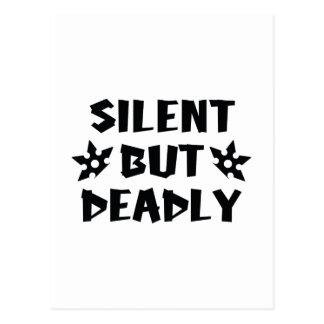 Silent But Deadly Postcard