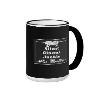 Silent Cinema Junkie Mugs