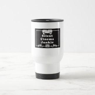 Silent Cinema Junkie Stainless Steel Travel Mug