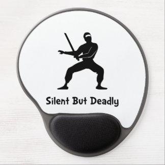 Silent Deadly Ninja Gel Mouse Pad