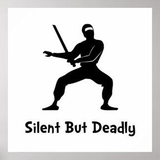 Silent Deadly Ninja Poster